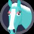 horse-badge