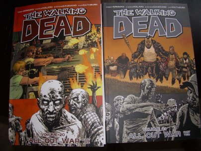 The Walking Dead Part One and Two Graphic Novel