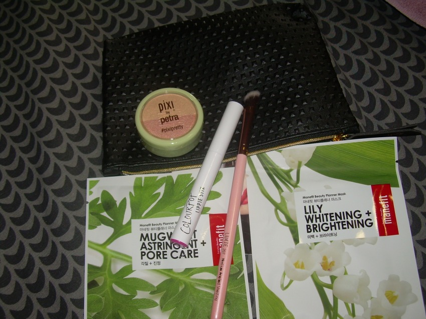 2017 Sept Ipsy Bag with 5 products