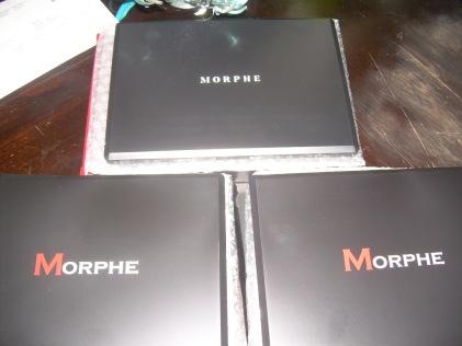 3 New Morphe Palettes
