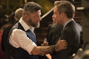 Klaw and Everett Ross played by Andy Serkis and Martin Freeman
