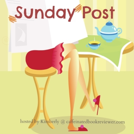 The Sunday Post is a weekly meme hosted @caffeinatedbookreviewer. It's a chance to share what we've been doing over the past week and visit other like minded blogs.