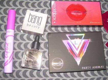 Bang Beauty – Chocolate Eyeliner $22,ncLA - So Rich Lollipop cuticle oil, $18,