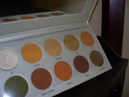 Armed & Gorgeous is a yellow/orange/green/brown shade palette