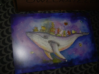 Whale Art Print (designed by Aun-Juli Riddle)